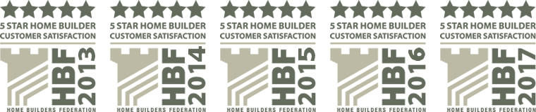 Cavanna Homes - HBF 5 Star badge