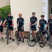 Cavanna Homes Ride for Precious Lives team